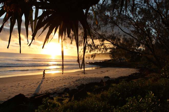 Sunrise over Byron Bay