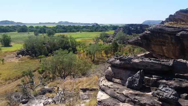 Lookout at Ubirr rock site