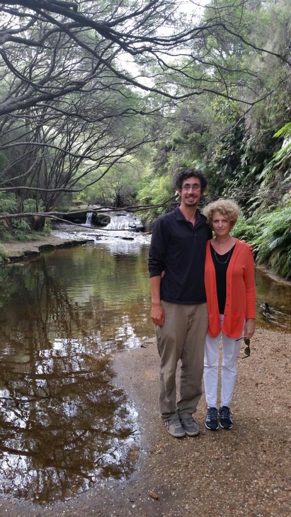 Paul & Linda along Darwin's Track