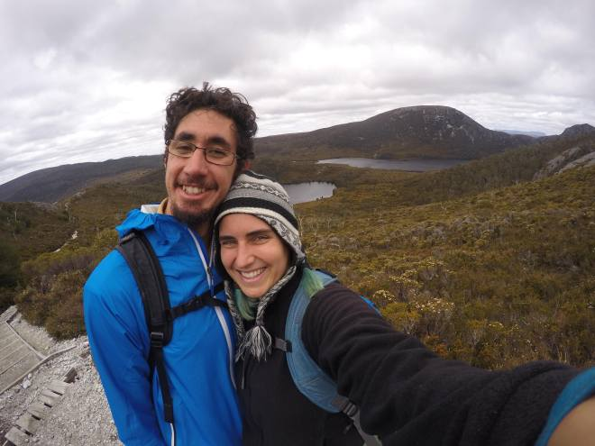 Paul & Christina at Cradle Mountain
